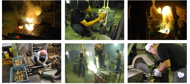 受け継がれた能作の伝統:製造過程