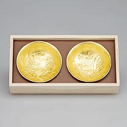 60010 祝の盃セット 金箔